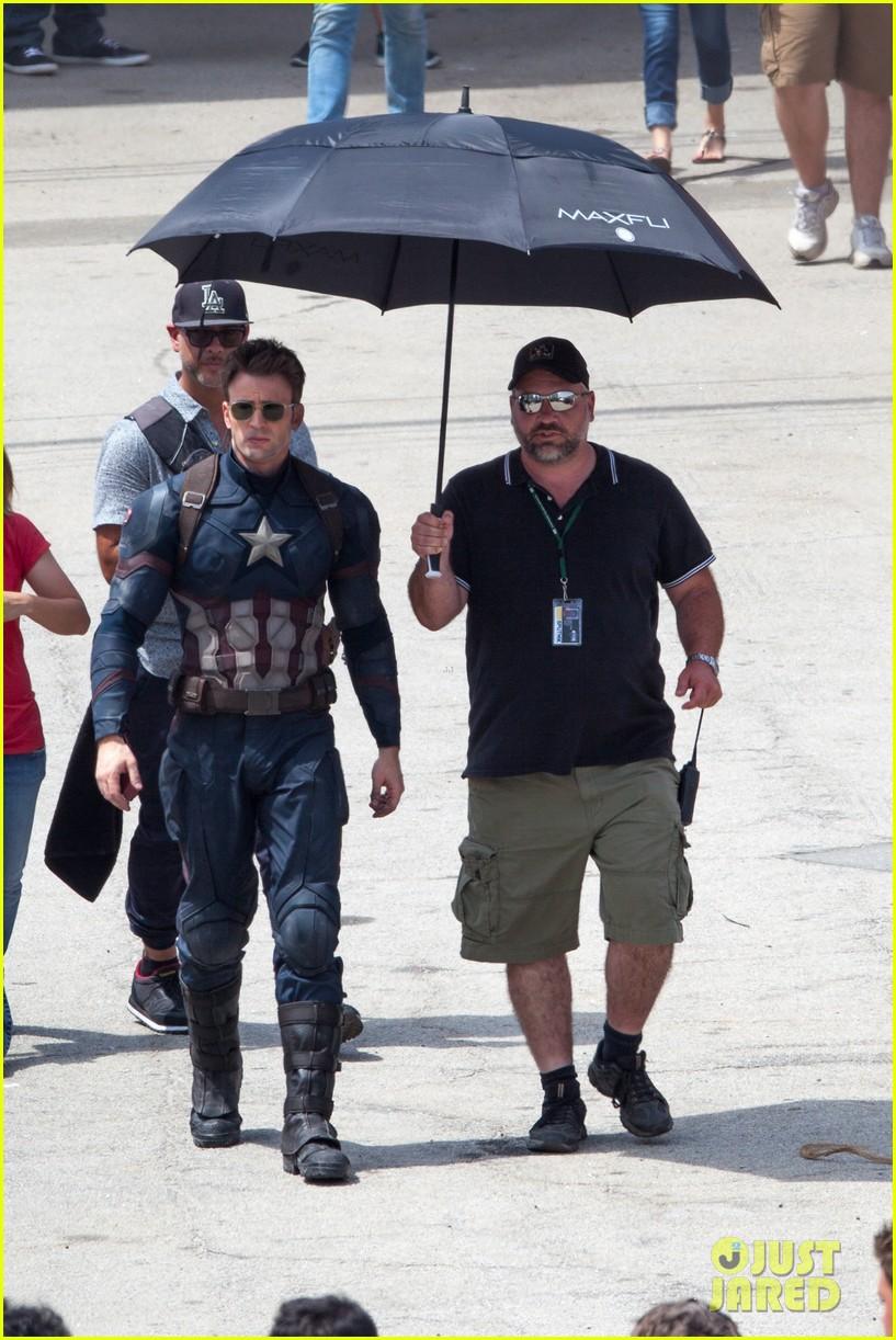 Captain America: Civil War Set Photos & Videos 84