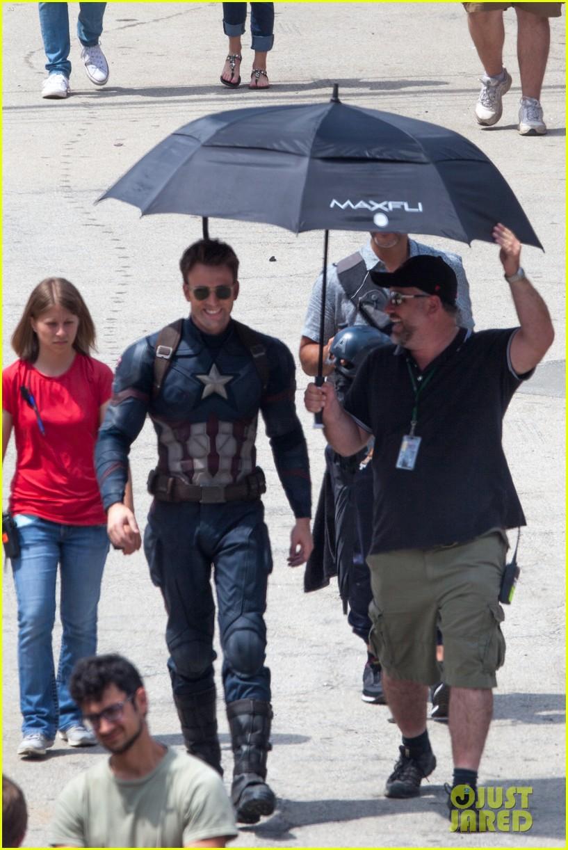 Captain America: Civil War Set Photos & Videos 92