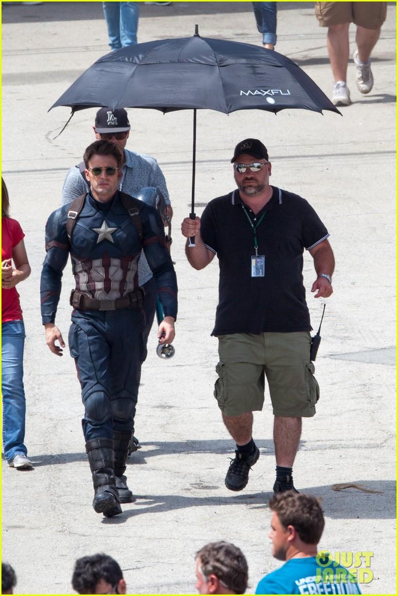 Captain America: Civil War Set Photos & Videos 95