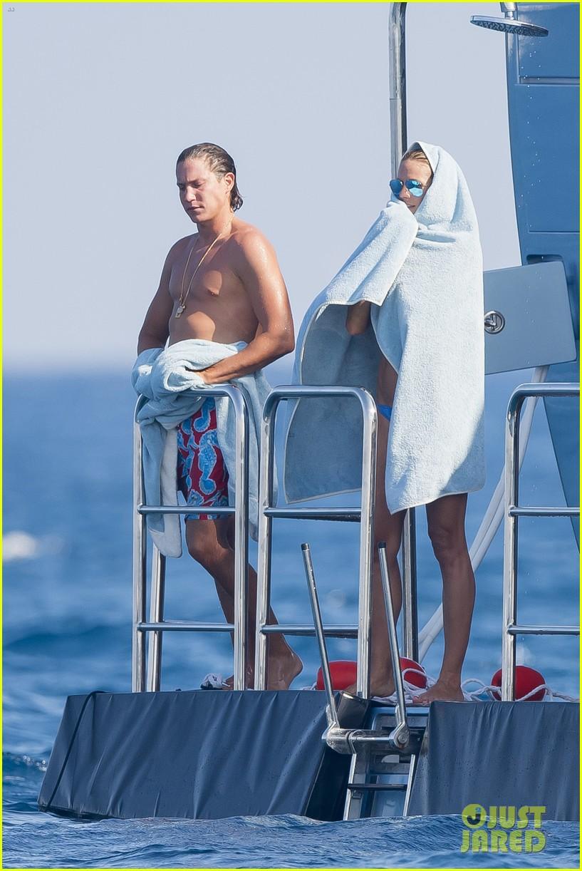 Heidi Klum Flaunts Amazing Bikini Body While Vacationing