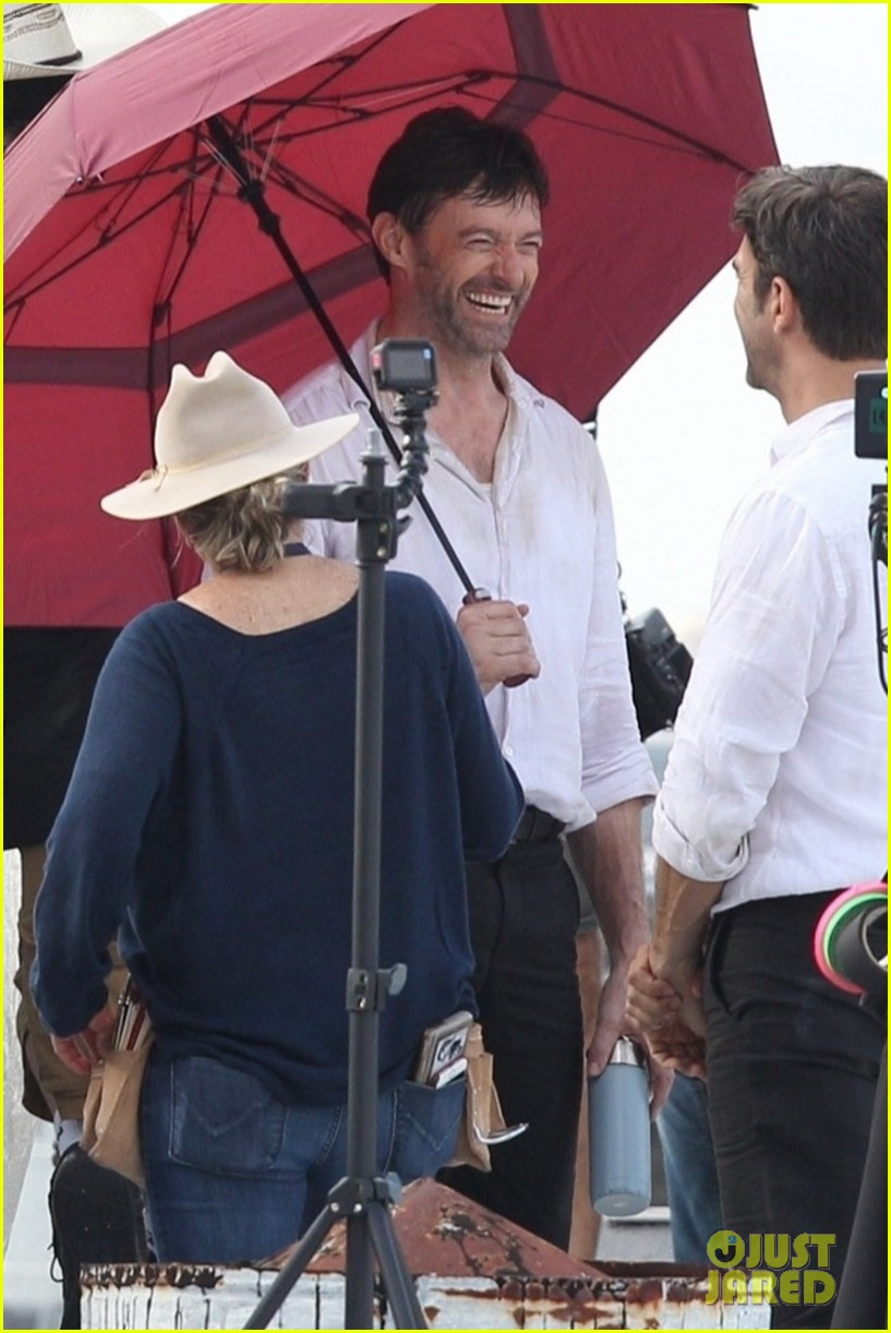 hugh jackman stunt double film reminiscence  in new orleans 014386506