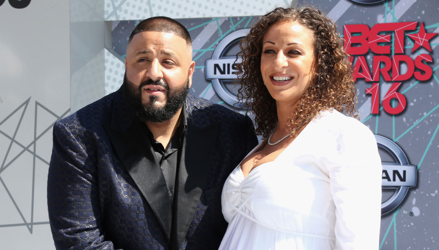 Image result for DJ Khaled and his fiancée, Nicole Tuck,
