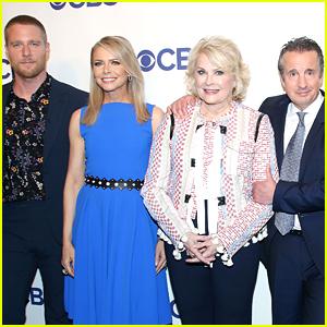 Candice Bergen & 'Murphy Brown' Cast Reunite at CBS Upfronts 2018!