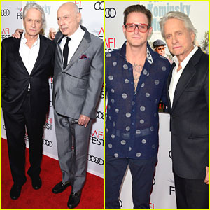 Michael Douglas & Alan Arkin Attend 'The Kominsky Method' Screening