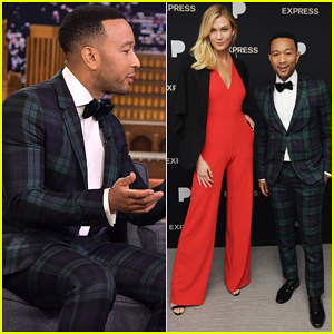 John Legend Performs A Retro 'Legendary Christmas' Medley on 'Tonight Show' - Watch Here!