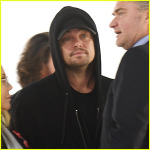 Leonardo DiCaprio Checks Out Art Basel Exhibit