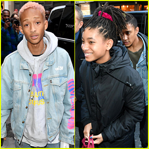 Jaden & Willow Smith Go Shopping Together in Paris!