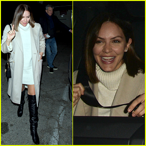 Katharine McPhee & David Foster Enjoy Dinner Date at Craig's