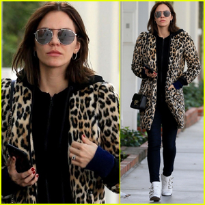 Katharine McPhee Shows Off Her Wild Side in WeHo!
