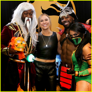 Ronda Rousey Makes Special Reveal at Mortal Kombat 11 Launch Event!