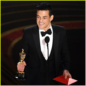Rami Malek Wins Best Actor at Oscars 2019 - Watch Video!