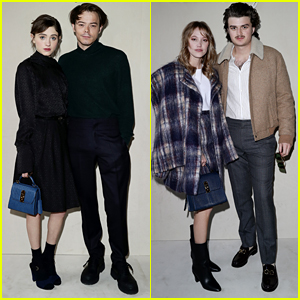 'Stranger Things' Stars Attend the Salvatore Ferragamo Show in Milan!