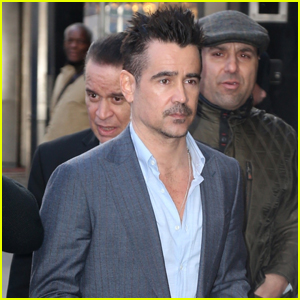 Colin Farrell Steps Out to Promote 'Dumbo' in NYC