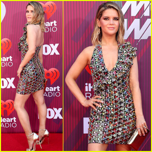 Maren Morris Shimmers at the iHeartRadio Music Awards 2019!
