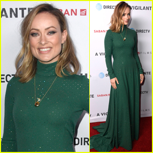 Olivia Wilde Wows at 'A Vigilante' Premiere in L.A.