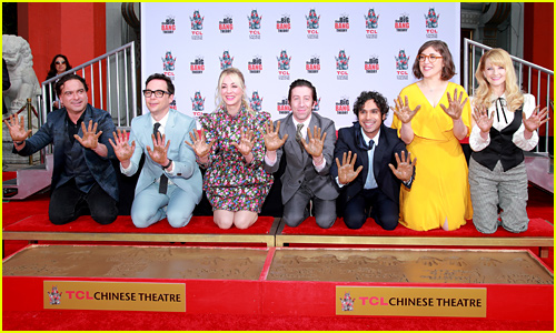 'Big Bang Theory' Cast Gets Honored With Historic Handprint Ceremony!