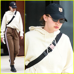 Gigi Hadid Keeps Low Profile While Heading to the Airport