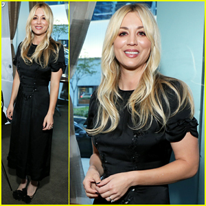 Kaley Cuoco Celebrates Her 'Haute Living' Cover Launch!