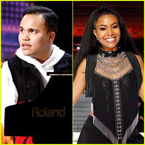Blind & Autistic Singer Kodi Lee Gets Gabrielle Union's Golden Buzzer on 'America's Got Talent' (Video)