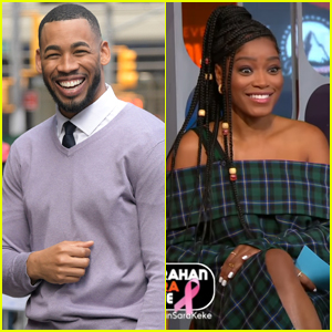 Bachelorette's Mike Johnson Asks Out Keke Palmer Live - Watch Here!