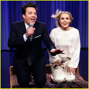 Kristen Bell & Jimmy Fallon Team Up For Epic 'History of Disney Songs' Medley - Watch Here!