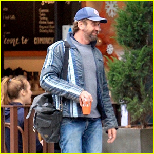 Gerard Butler Heads Out for the Day in Beverly Hills