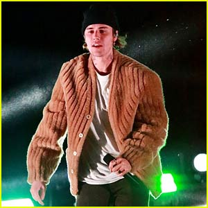 Justin Bieber Has Seemingly Pre-Taped His Kids' Choice Awards Performance - See Photos!