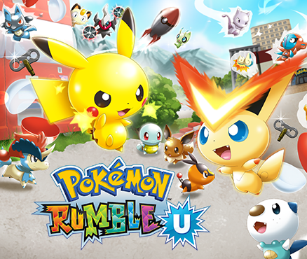 Pokmon Rumble U Jeux Tlcharger Sur Wii U Jeux