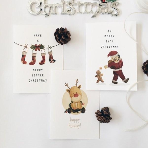 2020聖誕節 聖誕禮物 聖誕卡片 交換禮物