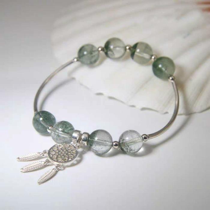 綠幽靈非常珍貴,是有招正財效果的水晶寶石