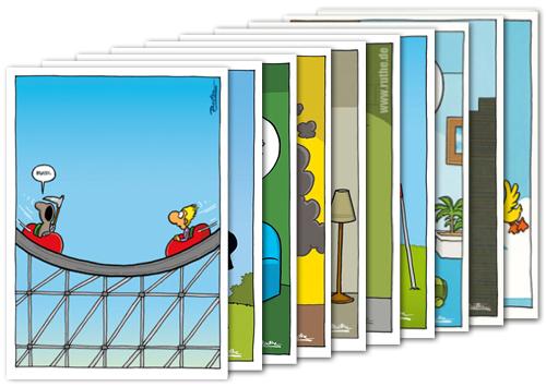 3er Packung Postkarte Spruche Humor Hab Eben Mal Durchgezahlt