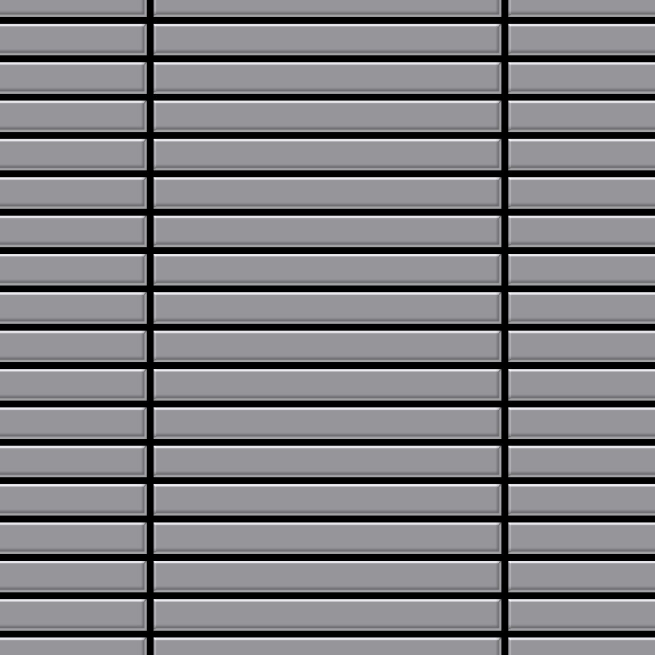 metal mosaic tile stainless steel matt grey 1 6mm linear s s ma ceres webshop