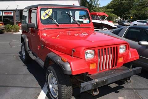 Used 1990 Jeep Wrangler For Sale Carsforsale Com