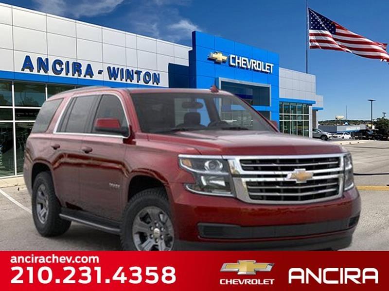 2020 Chevrolet Tahoe 4x2 Ls 4dr Suv In San Antonio Tx