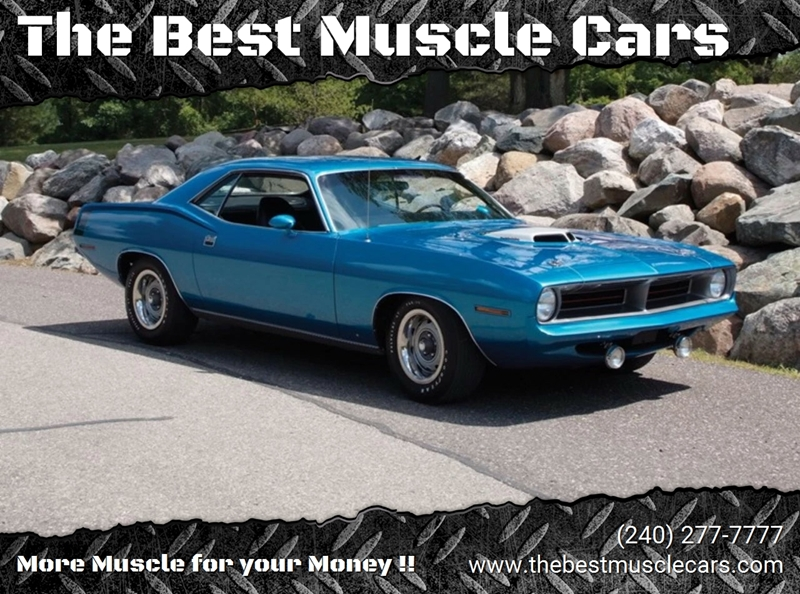 best selling classic muscle cars
