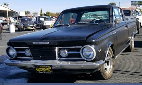 1964 Plymouth Barracuda For Sale   Carsforsale com     1964 Plymouth Barracuda for sale in Littlerock  CA