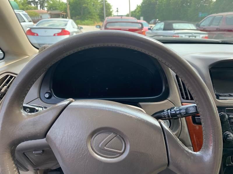 Black 1999 Lexus Rx300 Interior