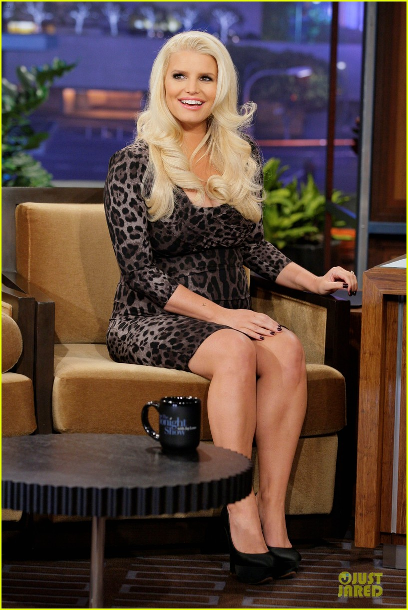 jessica simpson tonight show with jay leno appearance 03