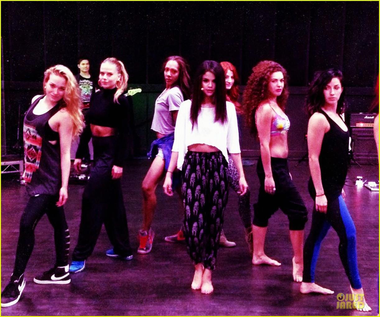 selena gomez mtv movie awards 2013 rehearsals 05