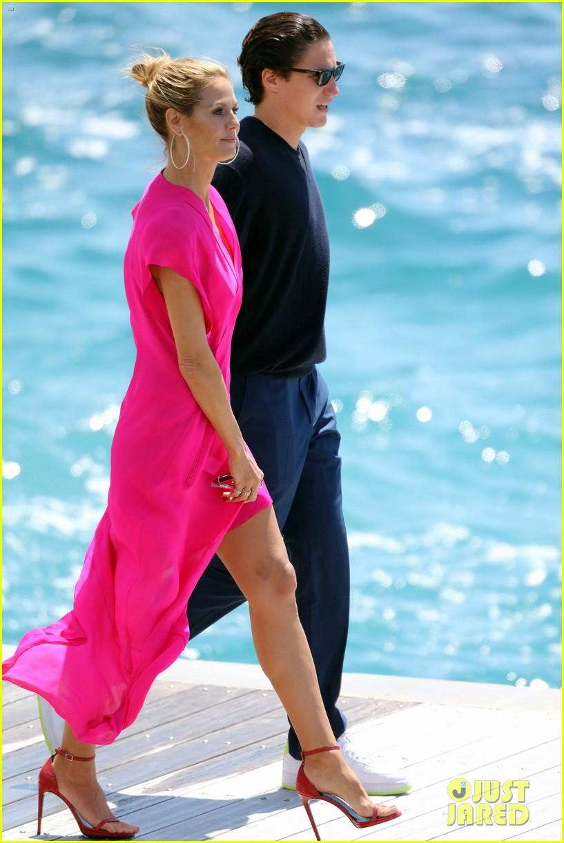 Heidi Klum Amp Vito Schnabel Couple Up In Cannes Photo