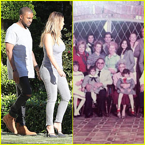 Kim Kardashian & Kanye West: Thanksgiving in Miami!