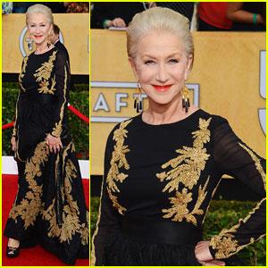 Helen Mirren - SAG Awards 2014 Red Carpet