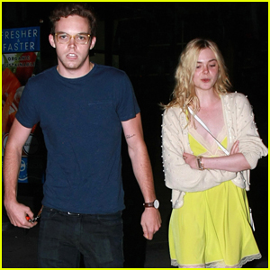Elle Fanning & Zalman Band Have Movie Date Night Out