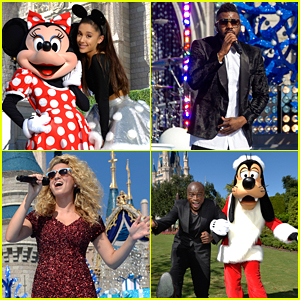 Ariana Grande, Seal & Jason Derulo To Perform In Disney Parks Unforgettable Christmas Celebration
