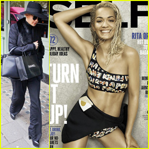 Rita Ora Shows Off Her Super Toned Abs on 'Self' Cover