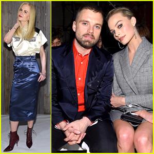 Nicole Kidman, Margot Robbie, & More Attend Calvin Klein Collection's NYFW Show!