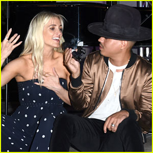 Ashlee Simpson Joins Husband Evan Ross for Performance at Charity Fundraiser