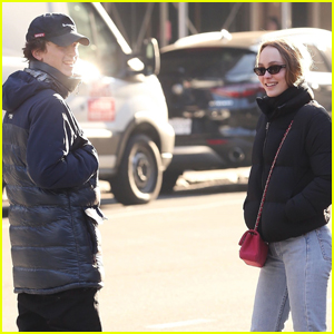 Timothee Chalamet & Lily-Rose Depp Step Out for Lunch Date