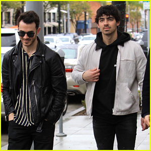 Joe Jonas Goes for Lunch with Kevin After Another Ski Trip