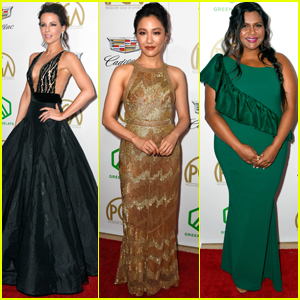 Kate Beckinsale, Constance Wu, & Mindy Kaling Show Off Their Style at Producers Guild Awards 2019